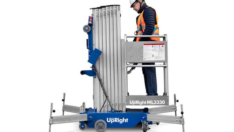Upright Pelarlift